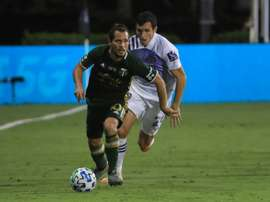 Sebastian Blanco of Portland won the MLS is Back Player of the Tournament award. AFP