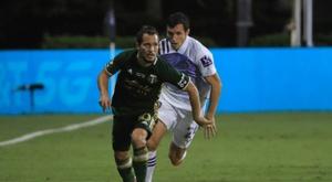 Sebastian Blanco of Portland won the MLS is Back Player of the Tournament award. AFP