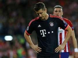 8e0b8f4d73 Bayern Munich's forward Robert Lewandowski. AFP