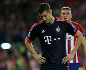 Bayern Munich's forward Robert Lewandowski. AFP