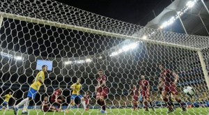 Brazil saw three goals disallowed in Salvador. AFP