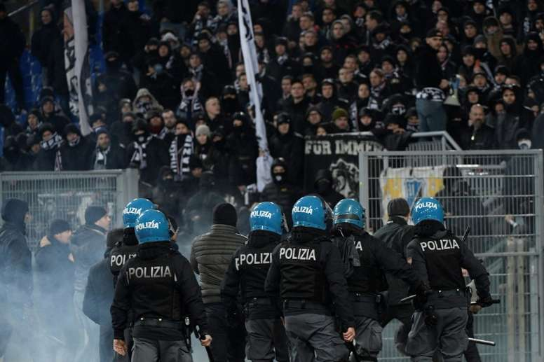 Yet another Italian match was marred by racist and anti-Semitic chanting. GOAL