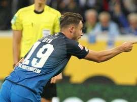 Schalke secure Hoffenheim's Uth. AFP
