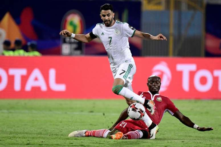 Senagal will face Algeria in an africa Cup of Nations clash of giants. AFP