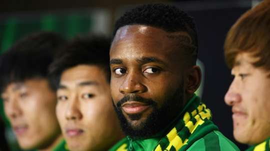 Bakambu joined the CSL in a rather mysterious signing from Villareal. AFP
