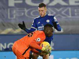 Title-chasing Leicester suffer Vardy blow. AFP