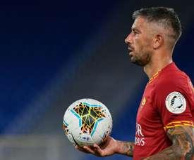 Alesandar Kolarov has joined Inter Milan from Roma. AFP