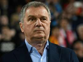 Montenegro manager refused to partake in the match against Kosovo. AFP