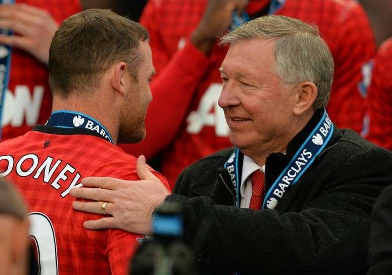 Sir Alex Ferguson usaba unos métodos motivadores harto peculiares. AFP/Archivo
