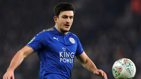 Maguire has signed a new long-term deal at Leicester. AFP