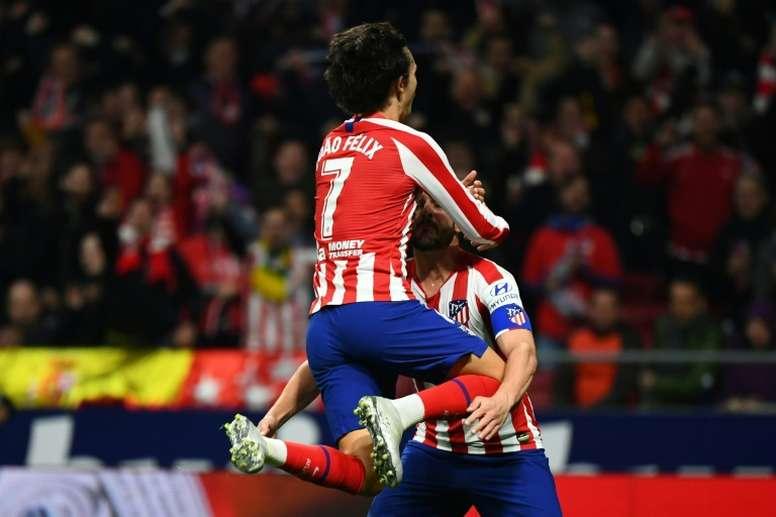 Joao Félix marcó ante el Villarreal y apunta a titular ante el Espanyol. AFP