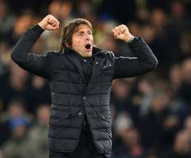 Conte is hoping to sign five players in January. AFP