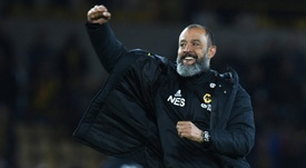 Pour Nuno, les Wolves c'est toute sa vie. AFP
