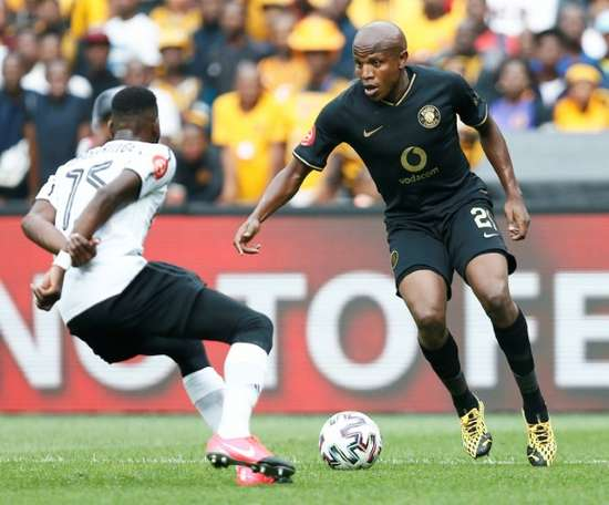 South African football will resume on Saturday after five months. AFP
