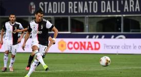 La Juventus retrouve le sourire. AFP