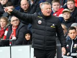 Chris Wilder will defer his wage for up to six months. AFP