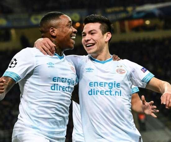 Hirving Lozano pourrait changer de club cet hiver. AFP