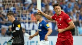 El Bayern-Schalke 04, a puerta cerrada en una Bundesliga con público. AFP
