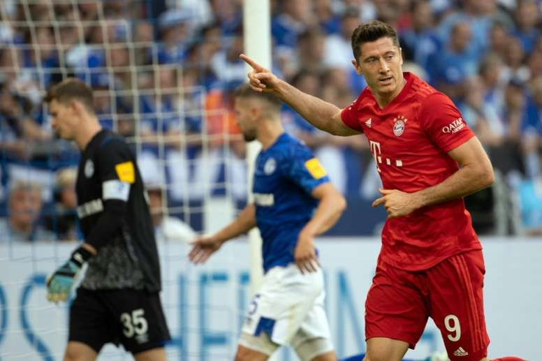 Lewandowski sees new hope for Bayern in the Bundesliga. AFP