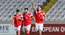 Ozdoev got on the scoresheet in Russia 0-5 win over Cyprus. AFP