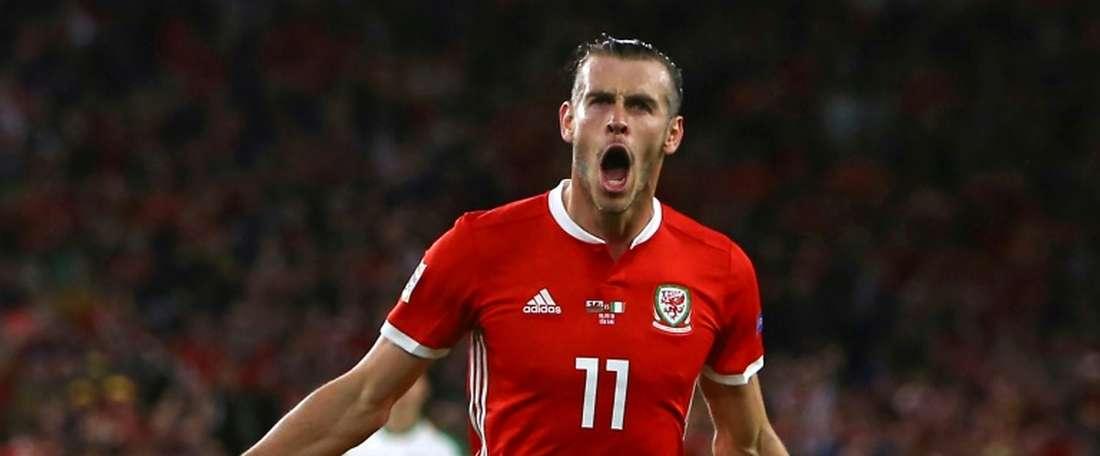 Bale scored a terrific goal against Ireland. AFP