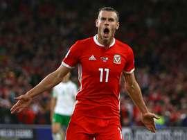 Bale a oublié les blessures. AFP