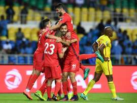 Túnez ya está en la siguiente ronda de la Copa de África. AFP