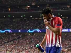 Diego Costa querría una subida de sueldo. AFP