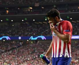 Costa is hoping to see his salary increased in the coming weeks and months. AFP