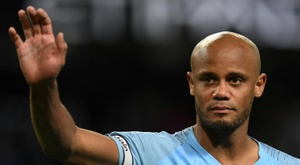 Will City erect a Vincent Kompany statue at the Etihad? AFP
