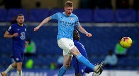 Manchester City midfielder Kevin De Bruyne. AFP