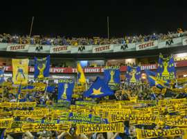Tigres fans cheer for their team during their Mexican Clausura 2016 tournament. BeSoccer
