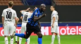 Lukaku, touché et incertain pour affronter le Real Madrid. AFP