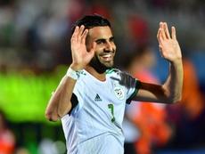 Algeria are through. AFP