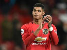 Mission unaccomplished: Rashford will not rest on his laurels. AFP