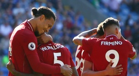 Liverpool's record-breakers eye home straight