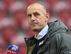 Herrlich has been hospitalised. AFP