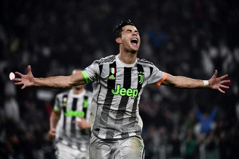 Juventus 2-1 Genoa: Cristiano Ronaldo scores late victor