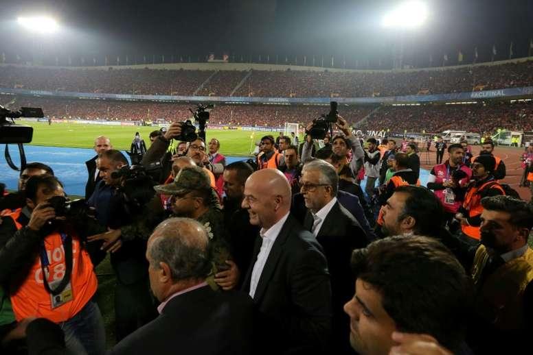 Irã segue colocando barreiras para mulheres nos estádios. AFP