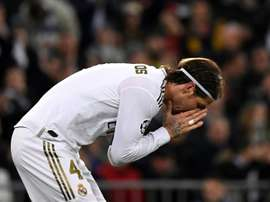 Ramos leaves UCL defeat behind to focus on El Clasico. AFP