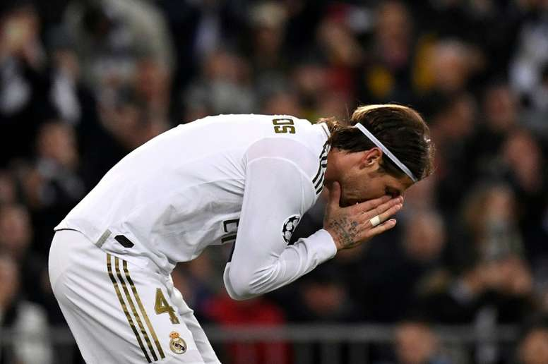 Sergio Ramos is out of the Champions League opener. AFP