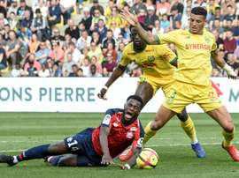 Lille pulled off a brilliant comeback at Nantes. AFP
