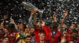 The Nations League will be back in September. AFP
