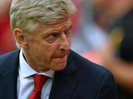Wenger is expected to field a young side for the game. AFP