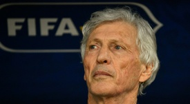 Pekerman helped Colombia reach consecutive World Cups. AFP