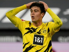 US midfielder Giovanni Reyna, 18, has signed a contract extension at Borussia Dortmund. AFP