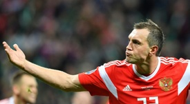 Russia need just one more point to qualify for Euro 2020. AFP