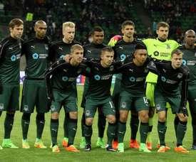 Nueva victoria para el Krasnodar. AFP