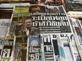 Thailand was stunned by Monday's news. AFP