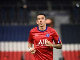Di Maria has been banned. AFP